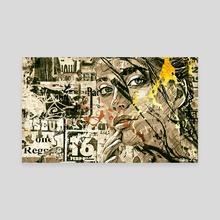 Attirance - Canvas by Romain Bonnet