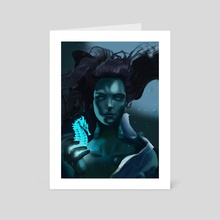Mermaide - Art Card by Piotr Tekien
