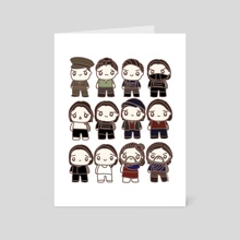 12 Bucky - Art Card by mintmintdoodles