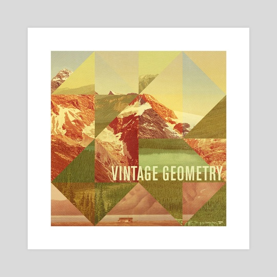 Vintage Geometry by Simon C Page