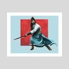 Samurai - Art Print by Josiah Herman