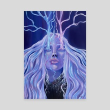 Deafening Silence  - Canvas by Yuna