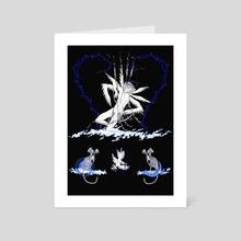 VALENTINE - Art Card by Marina Mika
