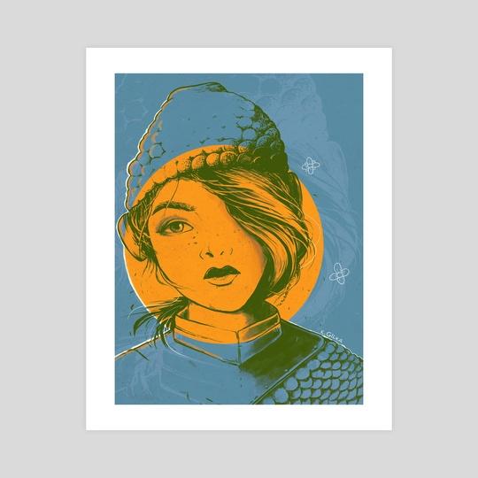 LAURA - Knight Girl by Kacper  Gilka