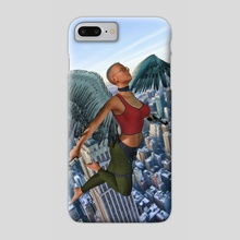 Guardian Angel - Phone Case by Eddie J. L. Christian