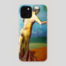 Dream Landscape Echo - Phone Case by Alejandro Tearney