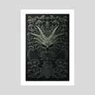 Black Book - Art Print by Kerem Beyit