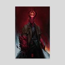 Hellboy - Canvas by Rodney  Amirebrahimi