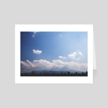 Oregon - Art Card by Daniel Chern