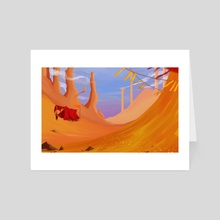 Amber Desert - Art Card by Saren Hale