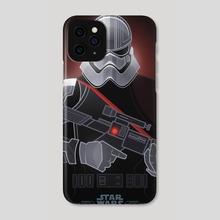 Star Wars Villains - Captain Phasma - Phone Case by Jonathan Lam