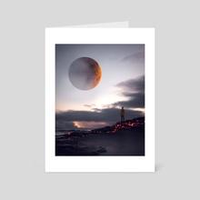 so close, so far - Art Card by Mikko Raima