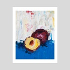 That Plum Looks Good - Art Print by Eric Buchmann