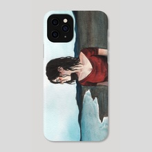 Cold Waves - Phone Case by Bella Q