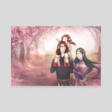 The Shangguan Family - Canvas by Yuz'ki