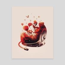 Serene Oblivion - Canvas by Enkel Dika
