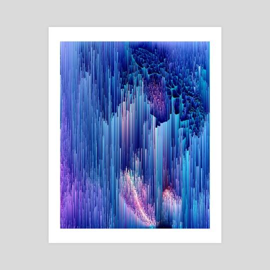 Beglitched Waterfall by Jennifer Walsh