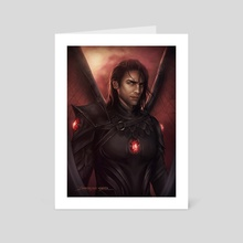 Commander  - Art Card by Dominique Wesson