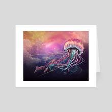 jellyfish - Art Card by Galia Escaff