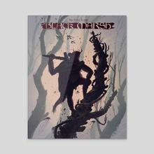 Elder Scrolls VI: Black Marsh - Acrylic by Joel Fulker