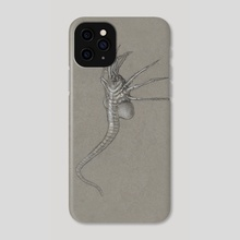 Facehugger - Phone Case by Gibby  Kain