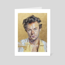 harry styles - Art Card by Jackie Liu