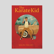 The Karate Kid  - Canvas by Anirudh Singh