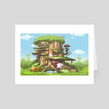 Tree House - Art Card by It's G.T Dream