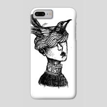 Wind in head - Phone Case by Lukyanova Maria
