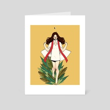 points - Art Card by pollyy clunes