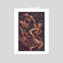 Tree People - Art Card by Kate O'Hara