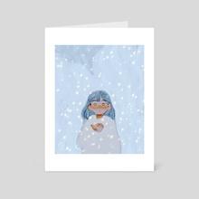snowwy - Art Card by Alyssa K
