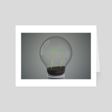 Bulb 02 - Art Card by Banti William