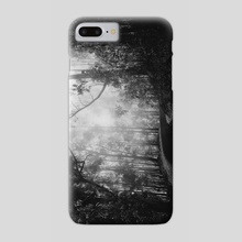 Misty Dark Road - Phone Case by Diogo Pereira