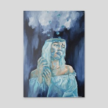 The Sky is Made of Somber Thoughts - Acrylic by Sonder Blue