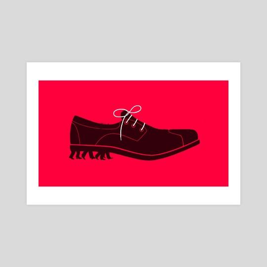 Shoe by Sébastien Thibault