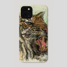 Tiger - 45 - Phone Case by River Han