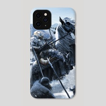 GO NO FURTHER - Knight - Phone Case by Pedro Otelcana