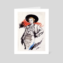 Dressing Ink I. - Art Card by Adan Vazquez