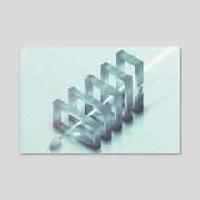 data purifier - Acrylic by Kaloyan Chehlarski