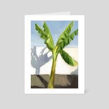 Palm tree - Art Card by Eduardo López Franquis