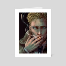 John Constantine - Art Card by Eridey
