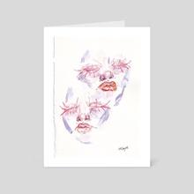 gentle - Art Card by Mackenzie Cooper