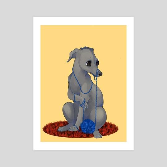 Yarnhound  by Taylor  Poppy
