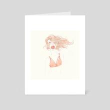 Sping girl 3 - Art Card by Ira Weber