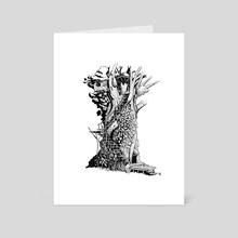 Ivy Treehouse - Art Card by David Regone