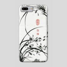 Orchid - 38 - Phone Case by River Han