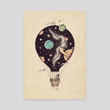 Interstellar Journey II - Canvas by Enkel Dika