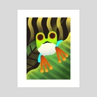 Frog - Art Print by Rod Perich