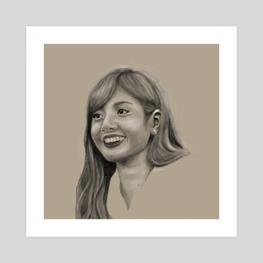 Lisa of Blackpink by Kirsten Jamilla